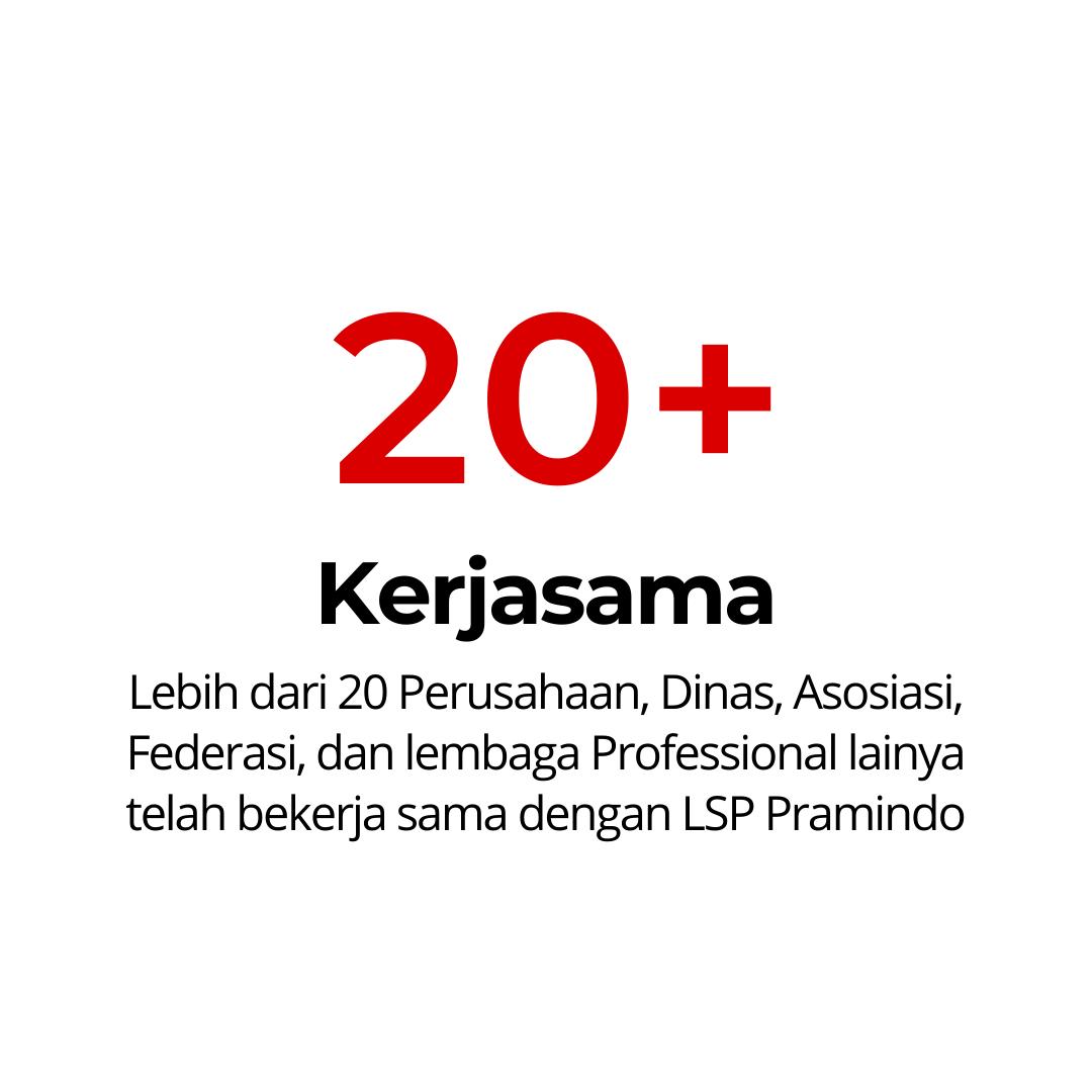 20 KERJASAMA